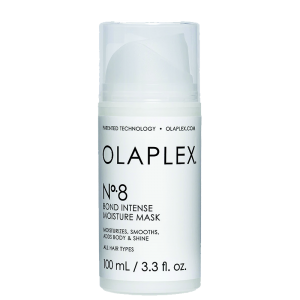 Olaplex Nr.8 tinka visiems plaukų tipams,veganams. Poveikis. Itin koncentruota plaukų kaukė su patentuota atkuriamąją formule. Intensyviai drėkina, stiprina, glotnina pažeistus plaukus bei suteikia jiems blizgesio ir apimties.